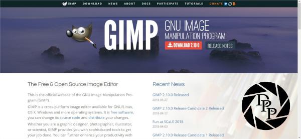 GIMP - GNU Image Manipulation Program - Mozilla Firefox