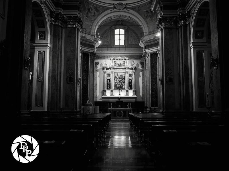 Navata centrale, Chiesa di Santa Maria del Suffragio, L'Aquila