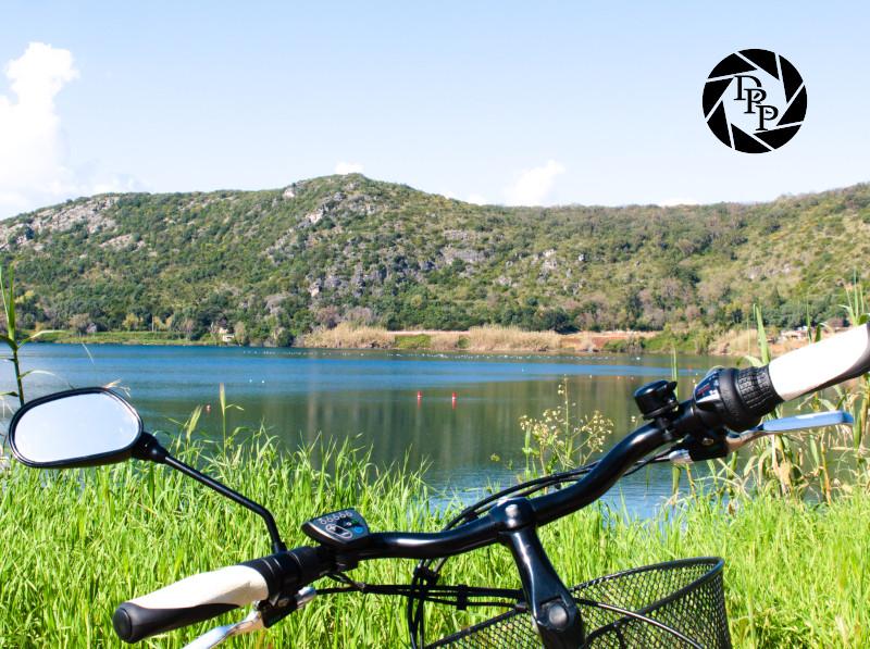 Lago San Puoto in bicicletta